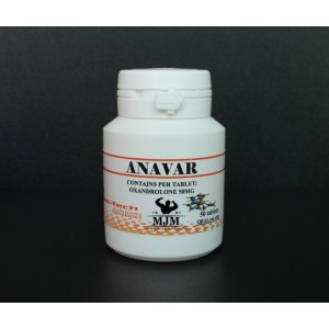 ANAVAR (50 mg/50 tabs)